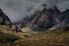 Misty Mountain Top (SkyeWeasel) Tags: mist mountain mountains skye landscape scotland ngc npc blaven blabheinn alltnadunaiche