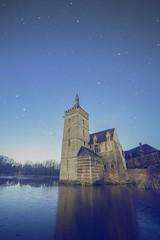 Knights on Ice (ixtussy) Tags: castle ice night stars belgium belgie horst kasteel ixtussy
