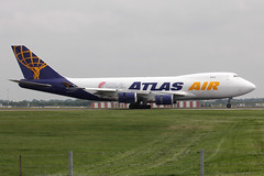 Boeing 747-47UF, Atlas Air (nickchalloner) Tags: london plane airplane airport aircraft air aeroplane cargo 400 airline atlas boeing gti freight stansted 747 stanstead airliner freighter b747 stn 747400 jetliner 744 400f b747400 74747uf 747f 5y egss b747f b744f n408mc b74747uf 47uf
