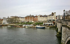 Classic Richmond (Serge Freeman) Tags: city uk england thames architecture river boats town spring britain great richmond embankment