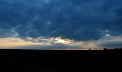 Sunset 2 (delluisa123) Tags: city sunset sky colour silhouette clouds nikon horizon dramatic heath norwich 1855mm mousehold d3300