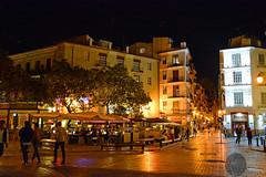 Plaza del Tossal (victorlaszlo73) Tags: valencia night cloudy nacht espana wolkig