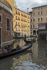 Venice 0053 (cbonney) Tags: venice italy hotel canal italia tourists gondola venezia gondolas