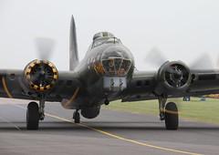 Duxford May2016_SallyB_01 (andys1616) Tags: boeing b17 flyingfortress sallyb memphisbelle 124485 gbedf usaf americanairshow duxford cambridgeshire may 2016