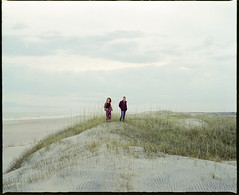 (Joe Mrava) Tags: ocean mamiya film beach vintage landscape island kodak dunes north formal lifestyle carolina medium outer expired portra banks ocracoke 120mm rb67