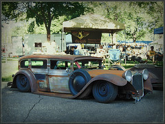 Rat Rod (novice09) Tags: hotrod carshow ratrod 2016 backtothefifties ipiccy