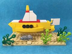 Yellow Submarine #Lego (mattosborne325) Tags: lego submarine beatles yellowsubmarine