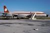 N990E-1-KFLL-OCT1988 (Alpha Mike Aviation Photography) Tags: hollywood fortlauderdale fll convair convair990 galaxyairlines kfll convair990a n990e