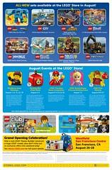 Store Calendar US Aout 2016 (hello_bricks) Tags: 40220 storecalendar store lego legostore creator legocreator creatorexpert big ben bigben bus london londres august aout 2016 promotions