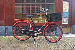 WorkCycles Gr8 Red-Black-4 (@WorkCycles) Tags: amsterdam bike custom distillerij distillery dutch fiets gr8 holland ooievaar red stadsfiets transportfiets workcycles