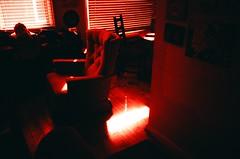 Saria's Living Room (Jesse Layne) Tags: cross velvia elite micro af expired fujichrome processed yashica 100f