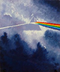 dsotm five (oluc) Tags: clouds painting prism pinkfloyd darksideofthemoon dsotm a:flickr=public a:flickr=pubold