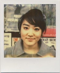 miss aya (daveotuttle) Tags: portrait polaroid sx70 aya testfilm px70 impossibleproject