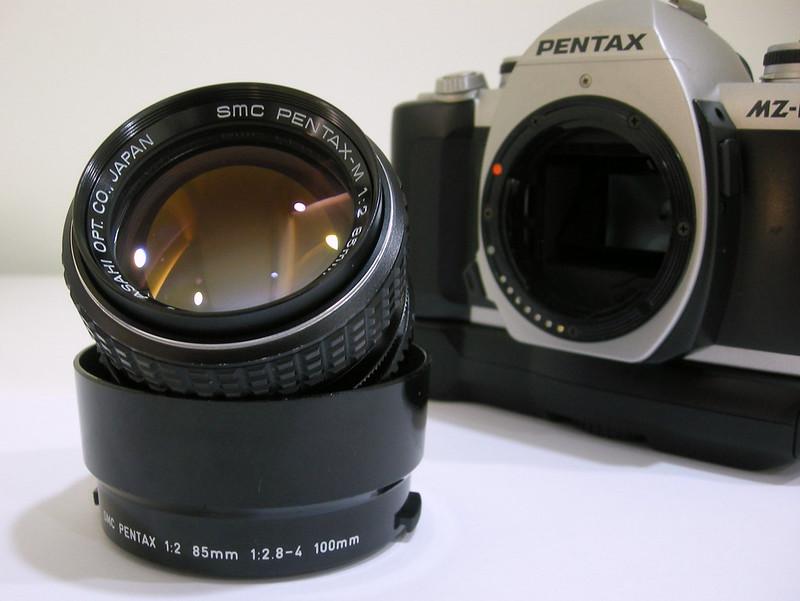 SMC PENTAX-M 1:2 85mm