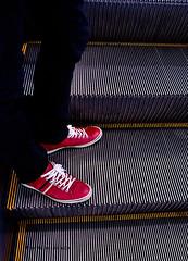 Shopping (Electra K. Vasileiadou) Tags: japan tokyo nikon asia escalator   hbrs d3100