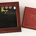 Lot 8. Album With Sacagawea Dollars and Shadow Box Frame with Six Proof Presidential Dollars