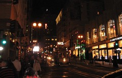 Powell Street at Night (gideon_wright) Tags: san francisco powell