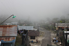 Solo trip - Outside Candi Cetho - The fog is coming (b3lthaZor) Tags: surakarta solotrip candicetho mixedupalready