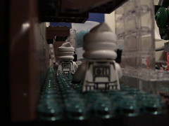 Waterfall Preview (LMM98) Tags: new brown trooper brick fall water fire star lego mud helmet battle arf flame walker unfinished wars pick done clone base preview moc pab atrt geonosis legomocmaker98
