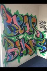 """Sylo """"Bear Bikes"""" (Broke OL' Loco) Tags: salinas 831graffiti"""