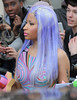 Nicki Minaj leaving the BBC Maida Vale studios. London, England