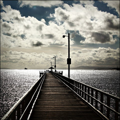 Paradise (cisco ) Tags: sky clouds canon square pier fishing australia victoria cisco cielo soul molo anglesea 500x500 banchina presenze soulsound eos5dmarkii