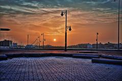 The sun is a painter! (Wajahat Mahmood) Tags: morning sky sun sunshine silhouette clouds day cloudy middleeast silhouettes east riyadh saudiarabia hdr highdynamicrange daybreak ksa    exit8 qartaba gharnata  gharnatah