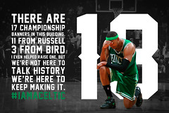 Banner 18 (zachary_smithh) Tags: atlanta usa basketball boston ga typography truth unitedstates type playoffs nba celtics paulpierce thetruth bostonceltics tebow truthing banner18 tebowing iamaceltic
