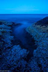 Shells (HrNes) Tags: longexposure blue water night dark long exposure flickr hour bluehour natt vann sj nattbilder mrkt bltime nightfoto maritimt langlukker publisert