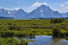 "Beaver Pond and Mount Moran (IronRodArt - Royce Bair (""Star Shooter"")) Tags: park usa mountains nature america pond mt dam scenic grand beaver mount national mountmoran teton moran tetonrange grandtetonnationalpark jacksonlake"
