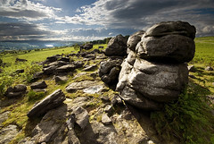 Hobb Stones, Wharncliffe Chase (andy_AHG) Tags: history rural outdoors rocks peakdistrict sheffield scenic folklore moors legend pennines southyorkshire britishcountryside northernengland landscapephotography beautifullandscapes wharncliffecrags wharncliffechase wharncliffelodge dragonofwantley