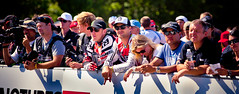 Steve Peat and Greg Minnaar Watch the Finish Line (Bill.Winters) Tags: mountain ny newyork bill greg steve mountainbike peat worldcup 2012 uci windham minnaar billwinters