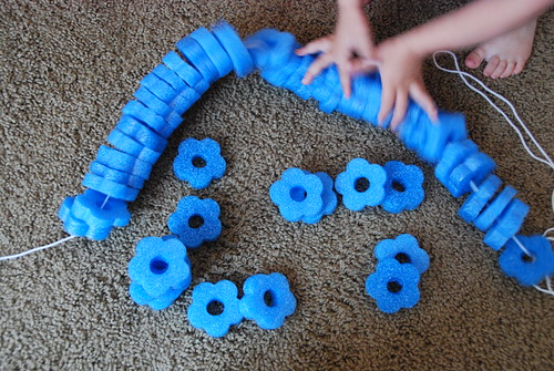 Toddler Lacing Activity