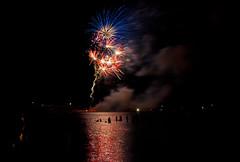 Grand Marais Fireworks 2012 (Gary of the North(Footsore Fotography)) Tags: fireworks 4thofjuly lakesuperior grandmaraismichiganusa
