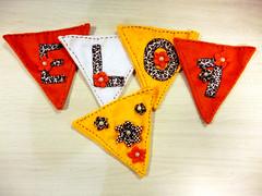 Bandeirolas para Elo7 na Mega Artesanal (Elo7 - Produtos artesanais) Tags: artesanato bandeirolas bandeirinhas arteso megaartesanal obrasdeartes elo7