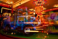 Big truck for little kids (vale0065) Tags: color movement fair handheld kermis slowshutterspeed beweging kleur lighttrail slowsyncflash tessenderlo lichtspoor tragesluitertijd uitdehand