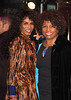 Sinitta with her mother Miquel Brown