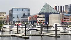 Inner Harbor  - Baltimore (.redchillies) Tags: acquarium baltimoreinnerharbor