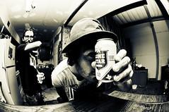Pete (Jacob-Manes) Tags: house lake beer star texas fisheye lone medina fedora split tone jamesjam12