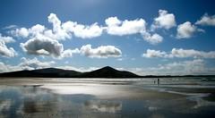 Low tide. (triciamorimori) Tags: sea beach clouds sand tide low hills shore muirioch