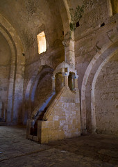 Chapel Inside The Krak des Chevaliers, Homs, Syria (Eric Lafforgue) Tags: travel color colour castle history church vertical stone architecture photography ancient day arch fort religion corridor chapel nopeople unescoworldheritagesite unesco syria 121 column thepast colonnade siria levant syrien syrie krakdeschevaliers crusadercastle sirja tartus traveldestinations colorimage famousplace suriye   syri nationallandmark internationallandmark mediterraneanculture  sria szria thecrusades builtstructure  westernasia   crakdeschevaliers middleeasternculture  suriah sirija  cp  sora