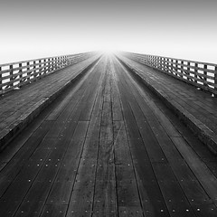 Bull Wall Bridge (MaggyMorrissey) Tags: bridge dublin fog bullisland clontarf
