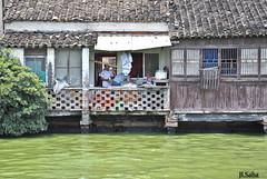 la quotidianeit (Jadranka Lara Saba) Tags: china suzhou fiume cina jiangsu fiumeazzurro casecinesi