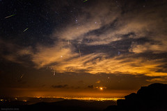 2012 Perseid Meteor Shower over Denver Colorado (tmo-photo) Tags: summer sky night dark way stars shower photography evans colorado skies 14 august denver moonrise astrophotography moonlight fourteener milky 000 constellations meteor comets 2012 mtevans meteors asteroids perseid perseids