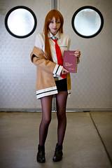 Kurisu Makise (yeshayden) Tags: book cosplay 助手 クリスティーナ steinsgate 牧瀬紅莉栖 シュタインズ・ゲート kurisumakise manifest2012