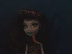 Monster High's Create-a-Monster Sea Serpent (Fire Engine Red) Tags: blue toy purple mattel seaserpent femaledoll createamonster monsterhigh