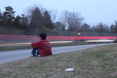 My Best Friend (dollens.grant) Tags: longexposure winter grass car dead lights friend waiting long exposure sitting martial arts best bestfriend tkd carlights minjae tricking