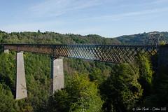 Le Viaduc des Fades (Gilles Muratel Photography) Tags: lac barrage auvergne vidange lesancizes plandeau retenue basenautique lesfades valledelasioule lesancizescomps pontdubouchet