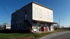 Downtown Walnut,Illinois (David Sebben) Tags: houses building town illinois small walnut