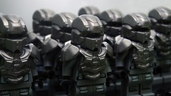 The Spartan Warriors ([N]atsty) Tags: industry lego halo warrior warriors custom spartan 343 the enforcers halo4 brickwarriors